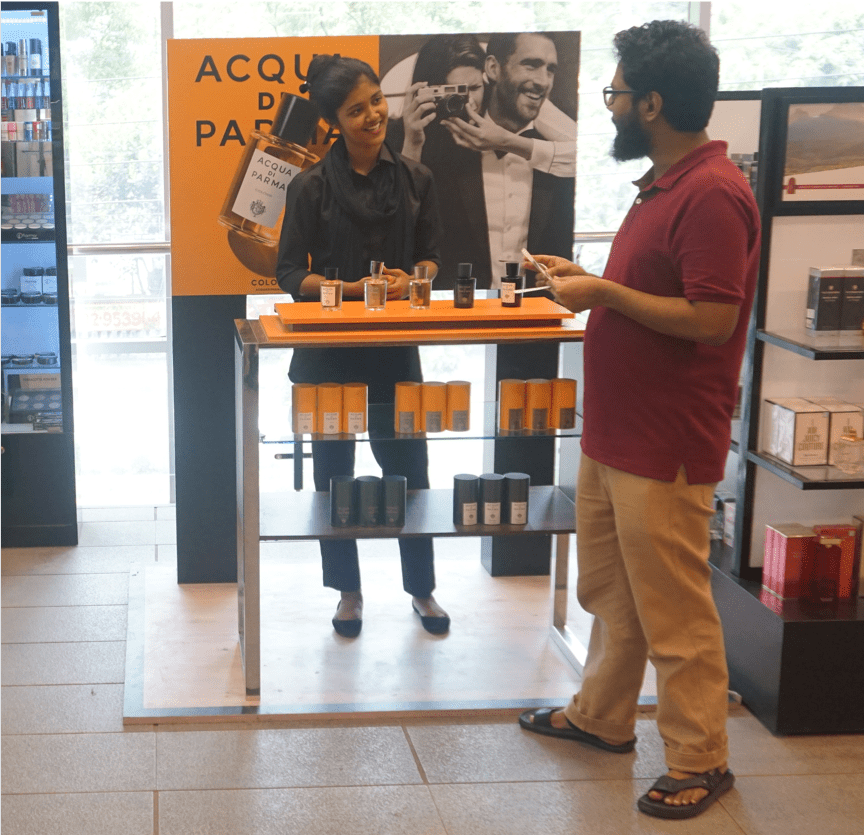 Acqua di Parma Colonia in-store outpostings